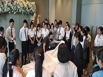 International College, Suansunandha Rajabhat University Hotel students visiting Novotel Bangkok Suvarnabhumi Airport on 5th of October 2018