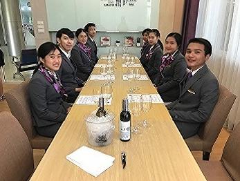 Hotel Management Program of SSRUIC organized Wine and Foods Pairing training