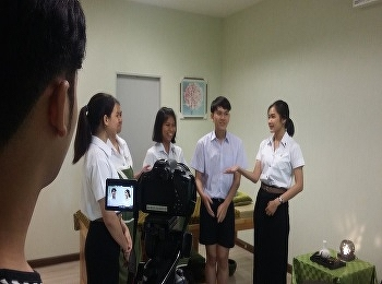 The students of Communication Arts Faculty, Suan Sunandha Rajabhat University have been working for their filming project to promote the University including International College News.