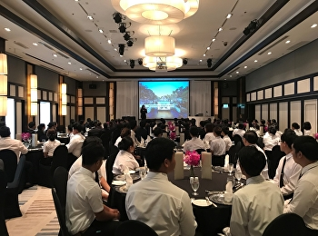 Lecturer has organized hotel study visiting for its students on 22 October 2018 at Banyan Tree Bangkok Hotel