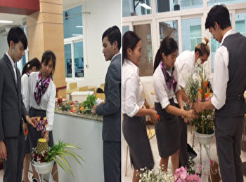 The Art and Decoration in Hotel Business class provides an introduction to floral design for decoration in a hotel.