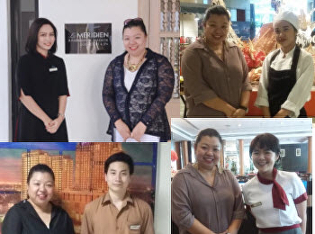 Ms. Nuntana Ladplee (lecturer of Hotel Management Program) visited well-known hotels in Bangkok.