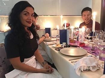 นักศึกษาสาขาวิชาการโรงแรมจัดกิจกรรมร้านอาหาร ในชื่อ CASA DEL SOL ณ วิทยาลัยนานาชาติ มหาวิทยาลัยราชภัฏสวนสุนันทา วันที่ 30 เมษายน 2562