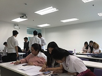 Students in Restaurant Business Major Practiced Revenue and Costs Calculation in HIR3305 Restaurant Revenue and Cost Management, Lectured by MS.Yupaporn Kithwang. On June 4th, 2019