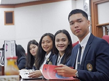 Student of Hotel Management Program, Mr.Ekaphak Buthdee as a member of The Students Committee Joined Exchanged Program in Korea with Dong Ah Institute of Media and Arts (DIMA) during 3-7 September 2019.