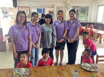October Activity by Miss Nuntana Ladplee; Hotel Management Students Code60 Joined Volunteer Activity at Foundation for Children, Nakhon Pathom.