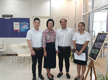 Hotel Management Program by Ms. Nakaporn Ketgomut, a lecturer in Restaurant Business Major Invited Guest Teachers, owner chef of Thai restaurant from England, Mr.Pathamadol Rangsikosai and a Former Teacher of Kasetsart Laboratory School, Assistant Profess