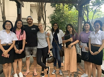 Hotel Management Students, SSRUIC Collected Information for a Survey of Factors Affecting the Consumption of Street Food in Chatuchak Market, as Part of HHM 2205 Consumer Behavior in Hospitality Industry.