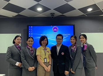 Students of Restaurant Business Major Code60 Presented Their Final Preparation for Professional Experience at Room Number 307 International College on November 19, 2019.