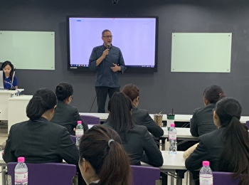 Executive Chef, Mr Alan Kubler from Hyatt Regency Resort Lake Tahoe NV, USA Visited and Gave Suggestion of Hospitality Operation in The USA on November 19, 2019.