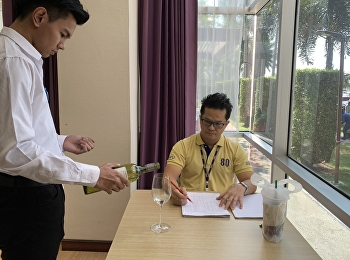 Students from Both Majors; Hotel Management and Restaurant Business Programs Code 60 were in Practical Exam of HIR3405