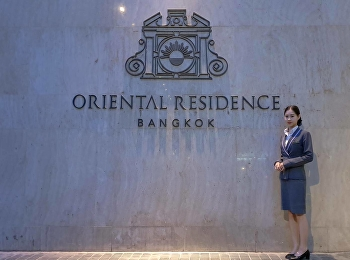 Ms.Nantana Ladplee paid a visit at The Oriental Residence Bangkok as our Hotel Management Student was on her internship, November 22, 2019.