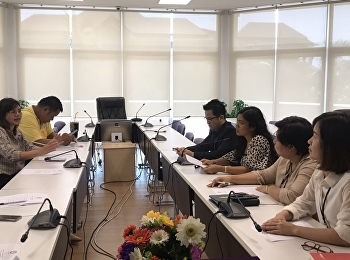 Lecturers of Hotel Management Program, International College, Suan Sunandha Rajabhat University and Personnel Discussed for a Plan for Street Food Assessment of TPQI