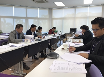 Curriculum Review of Hotel Management Program at International College, Suan Sunandha Rajabhat University Feb 05, 2020.