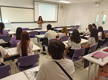 Hotel Management Program by Ms.Nuntana Ladplee and Ms.Kanyapilai Kunchornsirimonkol Arranged the Internship Orientation for Hotel Management Students Code60, at International College SSRUIC on August 6th, 2020.