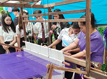 Hotel Management and Restaurant Business Students Joined Thai Cultural Activities at International College, Suan Sunandha Rajabhat University
