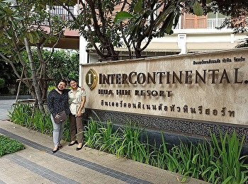 Miss Nuntana Ladplee, Lecturer of Hotel Management, International College, Suan Sunandha Rajabhat University Paid a Visit to 4th Students Code 60 at InterContinental Hotel Hua Hin in the Internship Program, October 2020.
